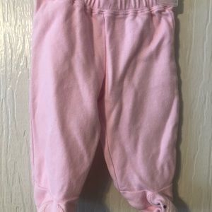 **10items for $9**Gymboree pink dog footie pants